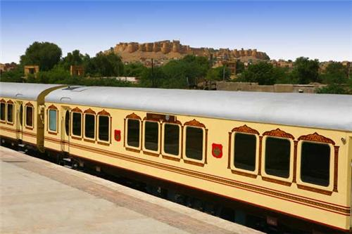 luxury trains in Rajasthan