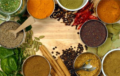 Spices used in rajasthani food