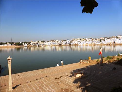 Pushkar Lake in Rajasthan