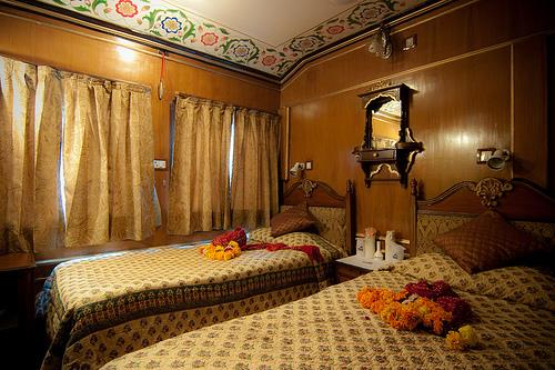 Honeymoon on the palace of wheels rajasthan