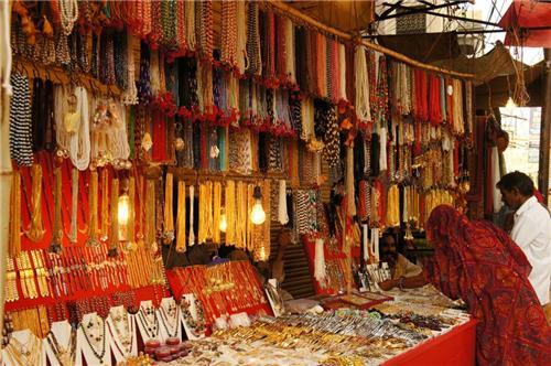 Main Bazaar in Pushkar