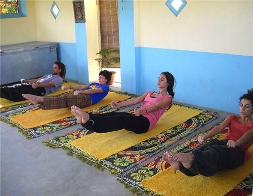 Yoga in Pushkar