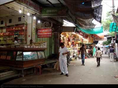 Shopping in Sheoganj