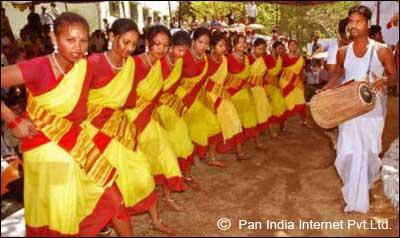 Sarhul Festival Celebration in Ranchi