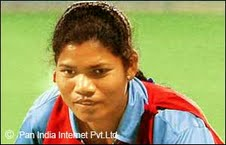 Woman Hockey Player from Ranchi