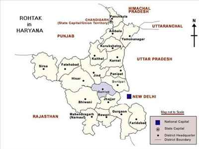 Geography of Rohtak