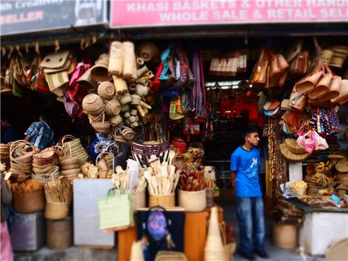 Local market in Shillong