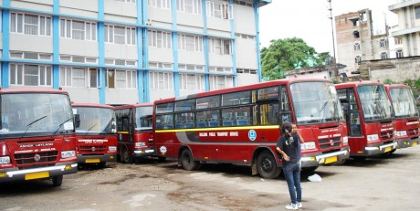 Buses in Shillong