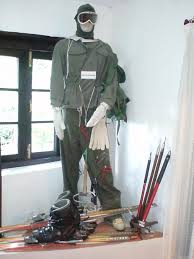 Displays at the Army Heritage Museum