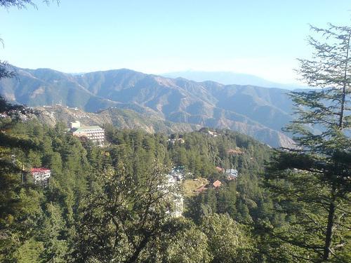 Jakhoo Hill in Shimla