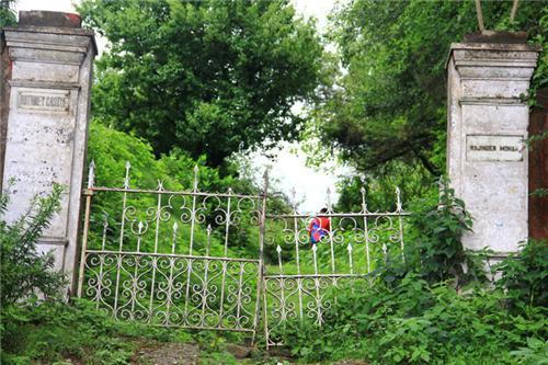 Old Gate of Rothney Castle