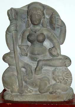 Stone Sculptures at the Himachal State Museum