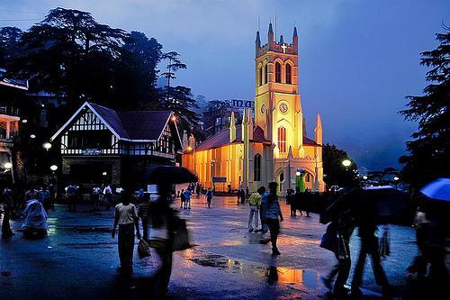 History of Christ Church, Shimla