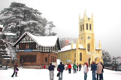 Christ Church in Shimla
