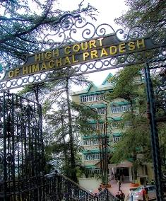 About Shimla High Court