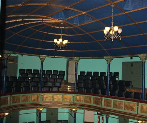 Seating Arrangement at the Gaiety Culture Complex