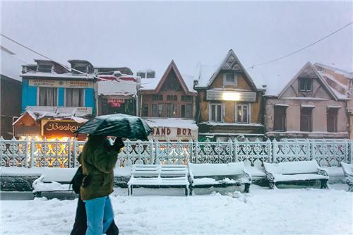 Scandal Point, Shimla