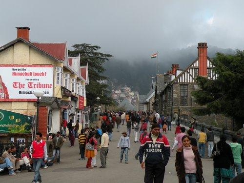 The Mall Road, Shimla