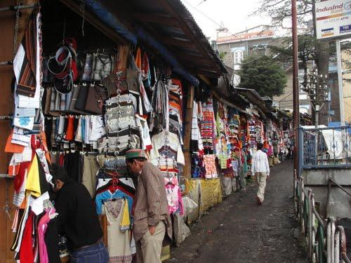 The Tibetan Market, Shimla