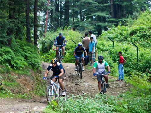Mountain Cycling Race, Shimla