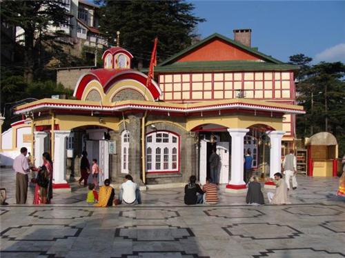 Tara Devi Temple, Shimla