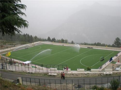 Watering the Shilaroo Hockey Stadium