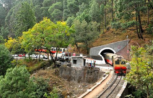 Train of Shimla-Kalka Railway