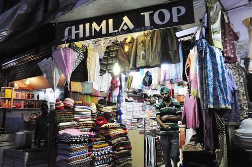 Woolen Items Shopping in Shimla