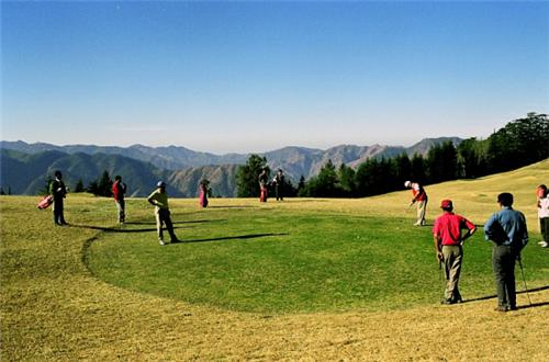Golf in Shimla