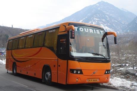 Buses in Shimla