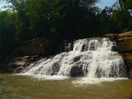 Achakanya Falls in Shimoga