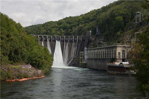 BRP Dam in Shimoga