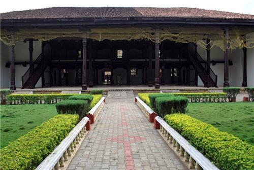 Shivappa Nayaka Palace museum in Shimoga