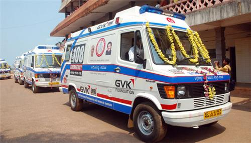 Ambulance services in Shimoga