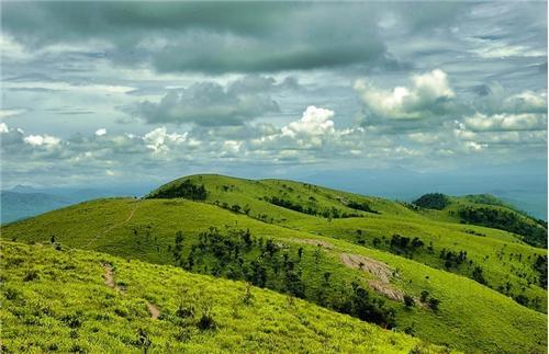 Kodachadri hills in Shimoga