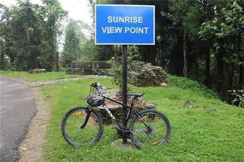 Sunrise View Pt in Sikkim