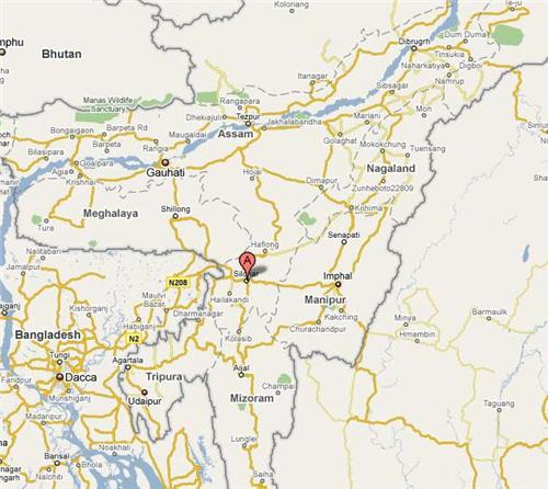 Geography of Silchar