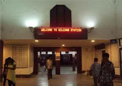 Railway Station in Silchar