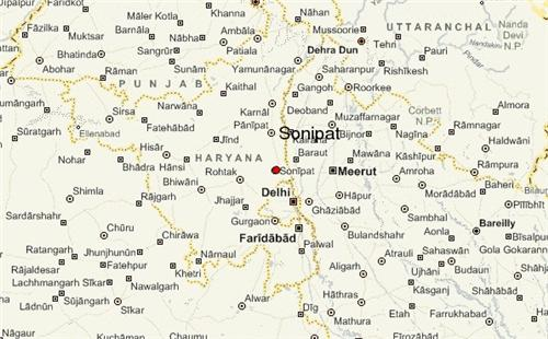Sonipat Distance from Popular Cities
