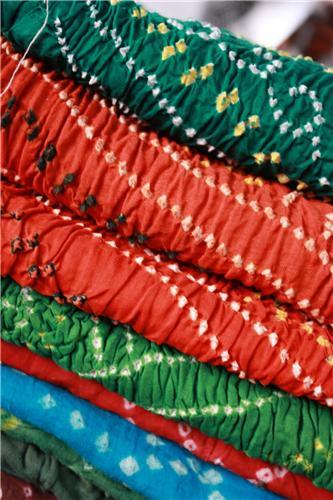 Tie and Dye Work of Surat