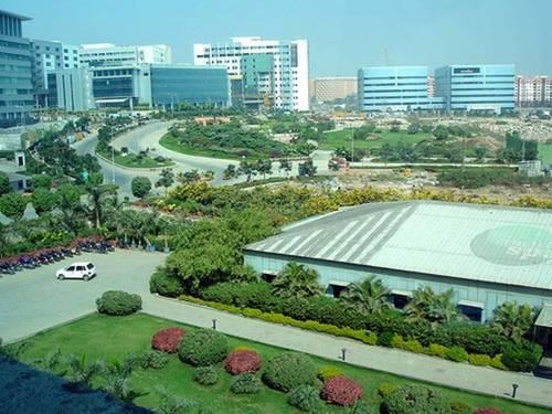 Hitech City in Hyderabad