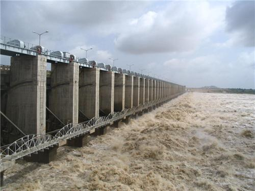 Dams in Krishna River