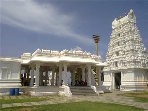 Sanghi temple near Hyderabad