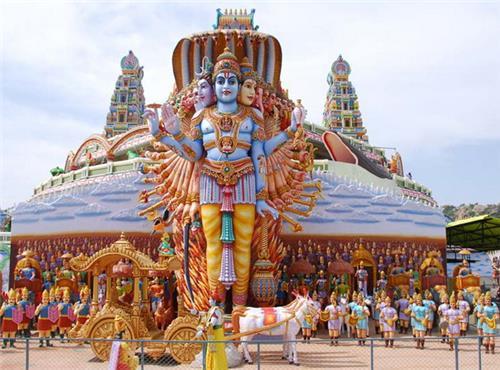 Mythological museum in Hyderabad