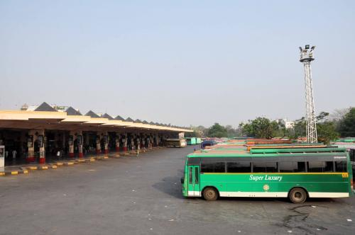 Bus Station in Hyderabad