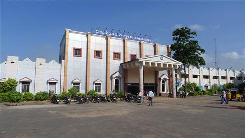 Railway station in Karimnagar