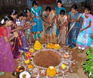 Celebrations in New HB Colony, Adilabad