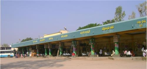 Bus Station in Gadwal
