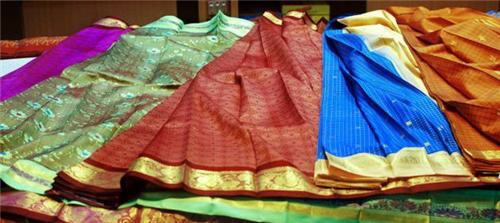 Thanjavur silk Saaries