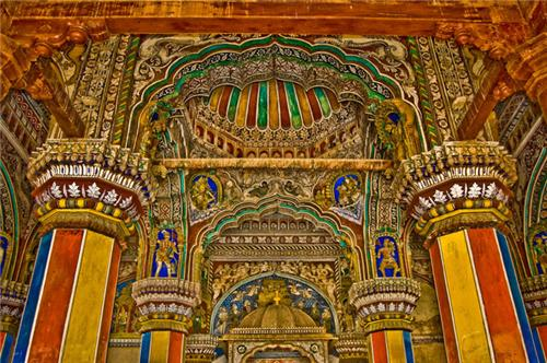 Thanjavur Royal Palace Architecture